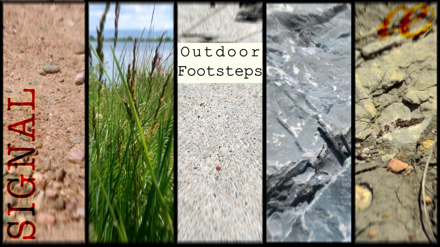 Outdoor Footsteps Product Image